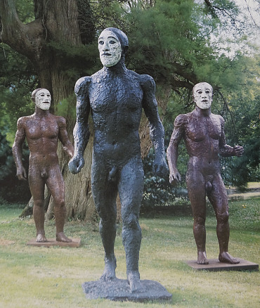 Elisabeth Frink, Riace III, 1988, Bronze, On loan to Yorkshire Sculpture Park in accordance with the wishes of the artist's late son, Lin Jammet, VG Bild-Kunst, Bonn 2020